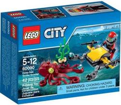 LEGO City Deep Sea Explorers Scuba Scooter for $5