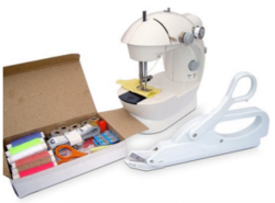Michley Mini Sewing Machine w/ Accessories for $20
