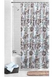 Mainstays Aqua Palm PEVA Shower Curtain for $5