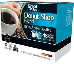 48 Great Value Donut Shop Blend K-Cups for $16