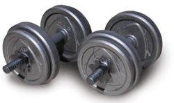Cap Barbell Cast-Iron Weights at Walmart from $2