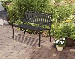Mainstays Slat Garden Bench for $59