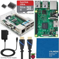 Vilros Raspberry Pi 3 Model B Starter Kit for $57