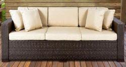 3-Seat Wicker Patio Sofa for $300
