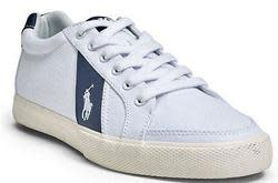 Polo Ralph Lauren Men's Canvas Sneakers for $20