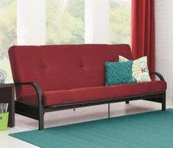 Mainstays Black Metal Arm Futon for $98