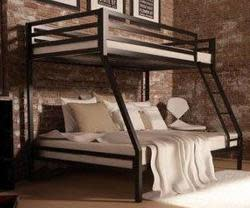 Your Zone Premium Twin-Over-Full Bunk Bed for $180