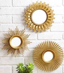 Better Homes and Gardens 3-Piece Mirror Set $15