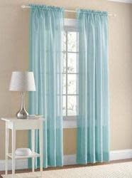 Mainstays Marjorie Sheer Voile Curtain Panel $5