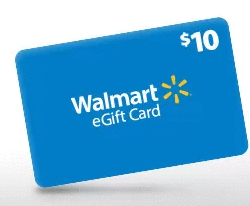 $10 Walmart eGift Card free w/ $75 in-app order