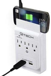 CJ Tech 3-Outlet Dual USB Wall Tap for $10