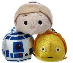 Disney Mini Tsum Tsum Star Wars Plush 3-Pack $8