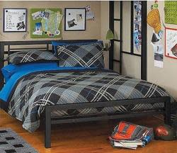 Your Zone Full Metal Bed for $109