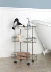 Chapter Rolling Bathroom Cart for $15