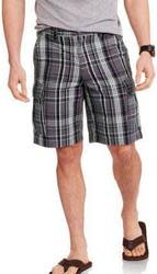 Faded Glory Men's Cargo Shorts for $9