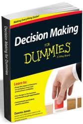 """Decision Making for Dummies"" eBook for free"