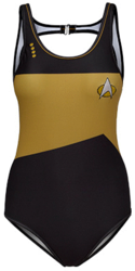 Star Trek gold swimsuit
