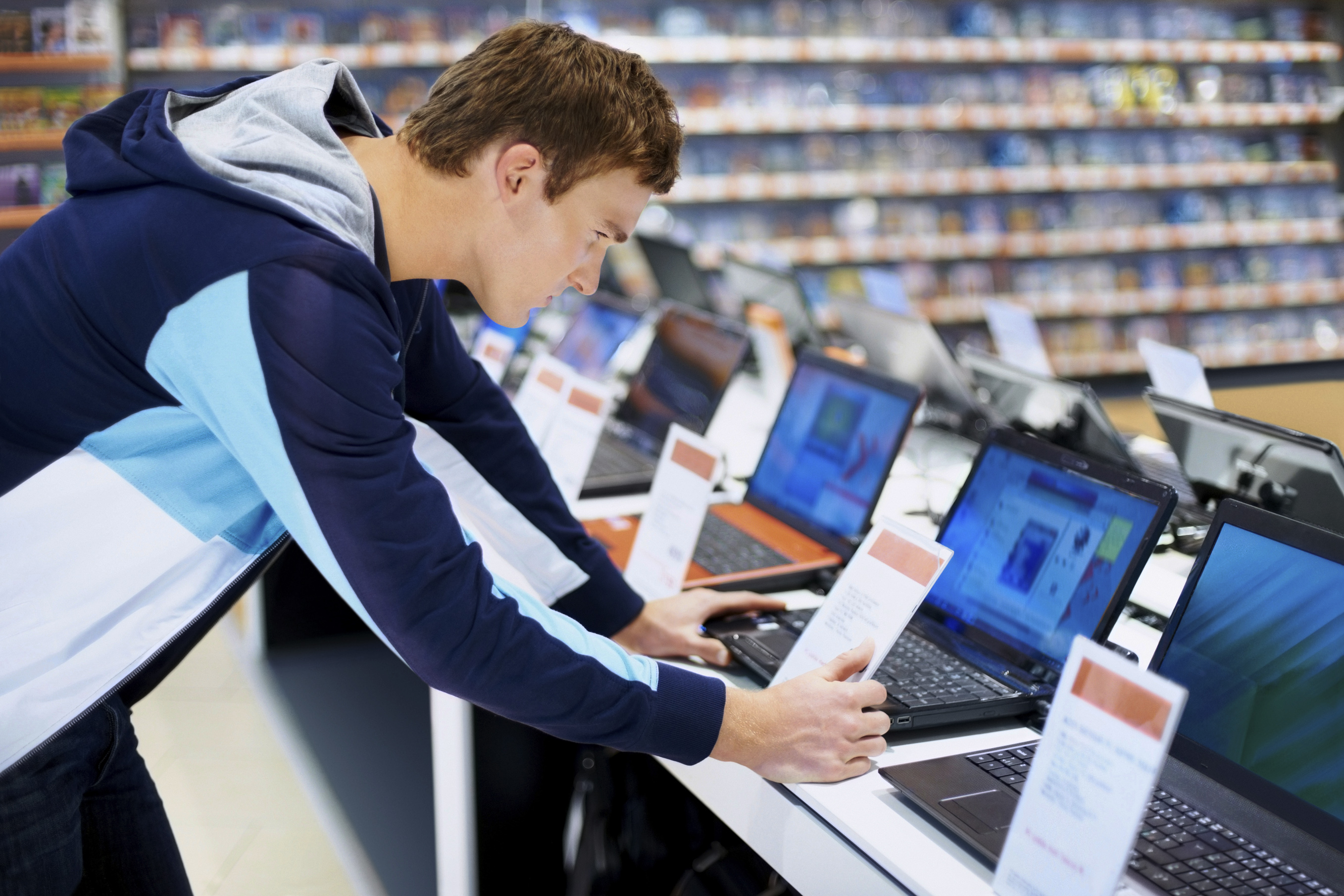 laptop shopping