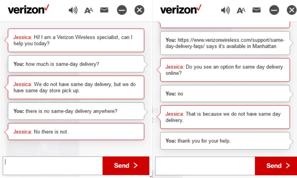 Verizon Chat