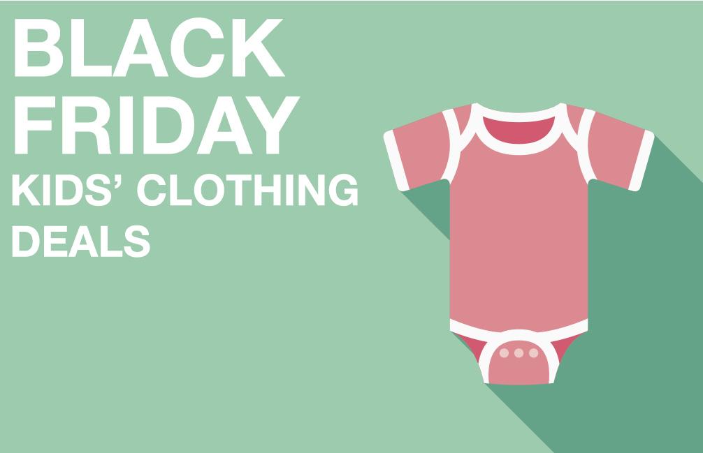 Black Friday kids' clothing deals