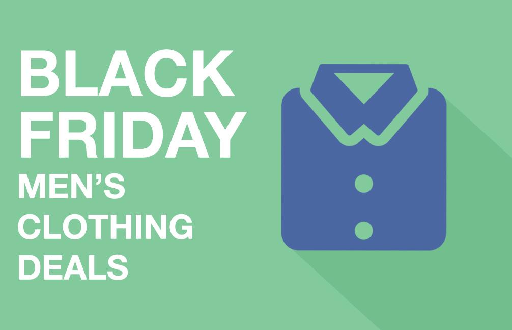 Black Friday men's clothing deals